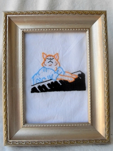 sewn keyboard cat