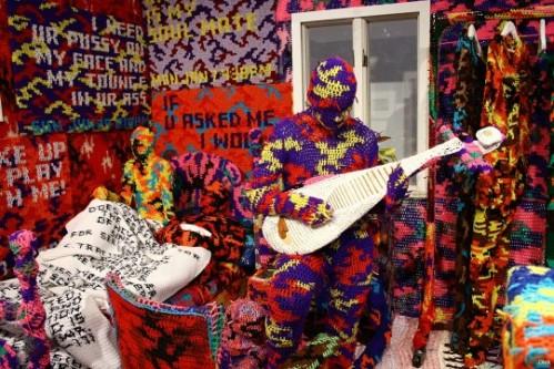 Crocheted art