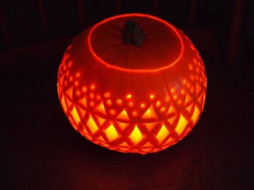 Fair Isle pumpkin