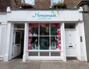Homemade London shop front
