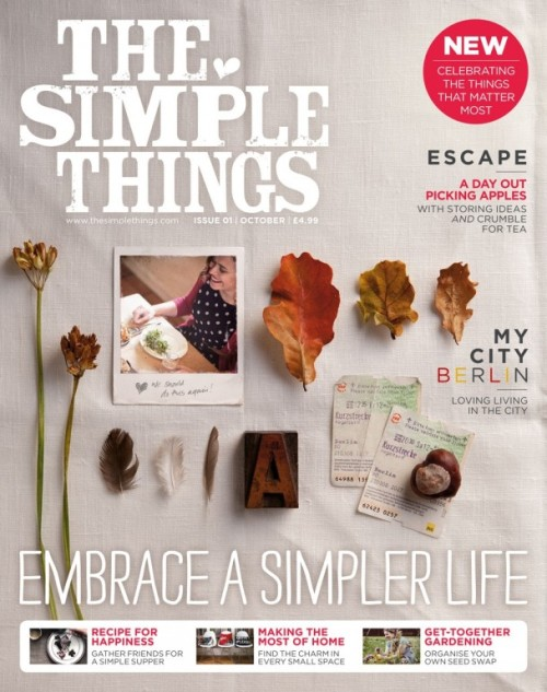 the Simple things cover