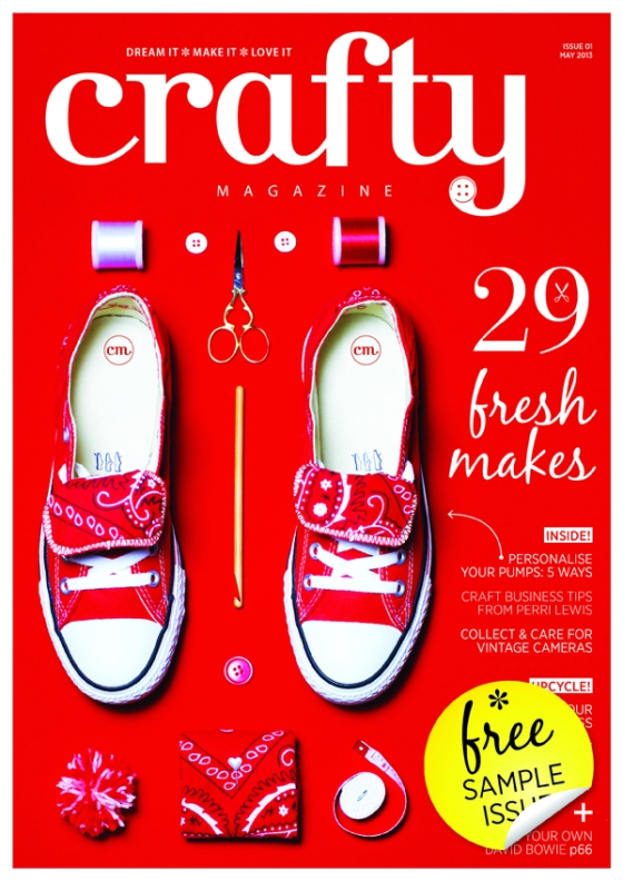 Crafty: the sexy new craft magazine