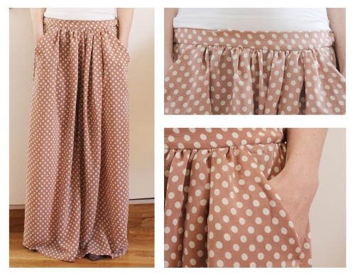 You wanna make this maxi skirt, right?