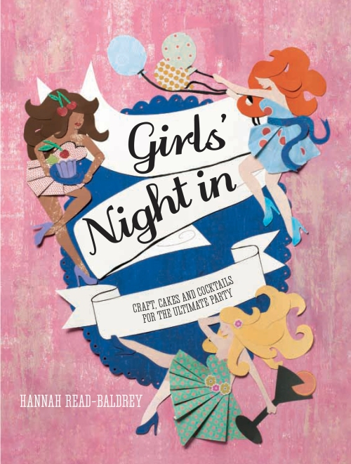 The front cover of Hannah Read Baldrey's book, Girls' Night In