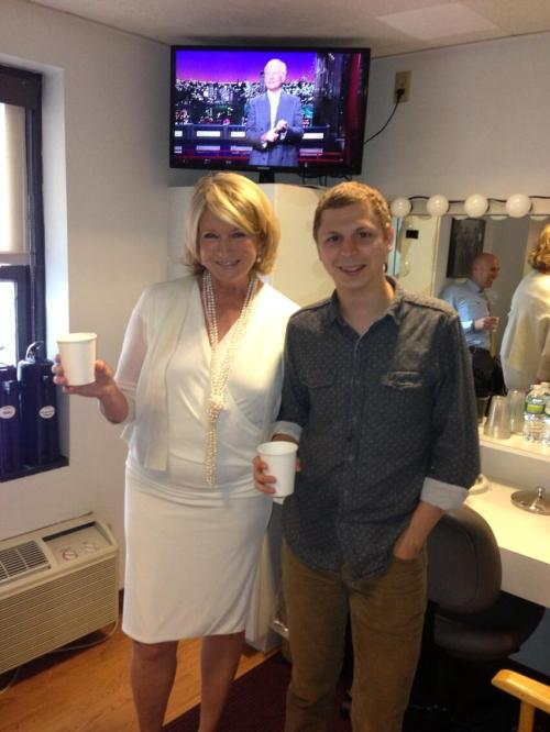 The One Where Martha Stewart and Michael Cera Hang Out