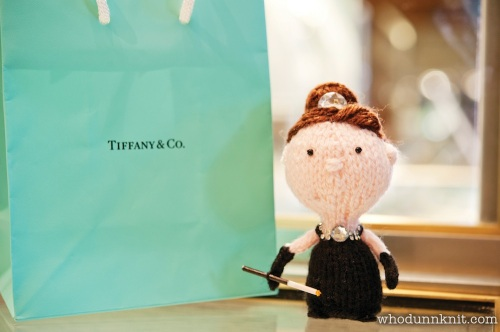 Stitch New York - Handmade Holly Golightly Tiffany's